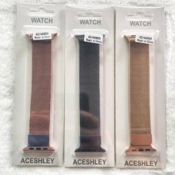 Pulseira Milanese Metal Smartwatch 42-44mm