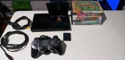 PlayStation 2 Modelo super slim d.e.s.b.l.o.q.u.e.a.d.o. Pronta Entrega Gratuita E Parcela