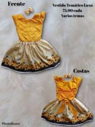 Vestidos infantil tematico