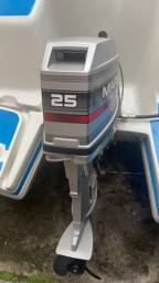 Motor de popa 25 2 tempo