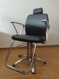 Cadeira de Salão Reclinável