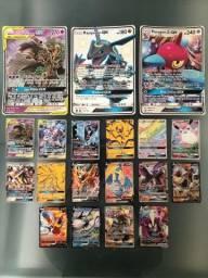 Lote de 19 cartas Pokémon ultra raras