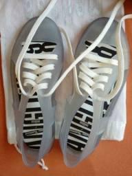 Melissa brighton sneaker transparente 35