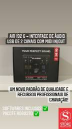 Interface de Áudio M-Audio Mtrack 2x2