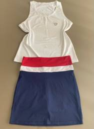 Short saia e blusa ( promoção )