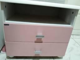 Trio rosa para menina