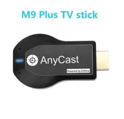 anycast M9 Plus (espelha celular na tv)