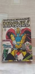 Superalmanaque Marvel n° 4 - Editora Abril
