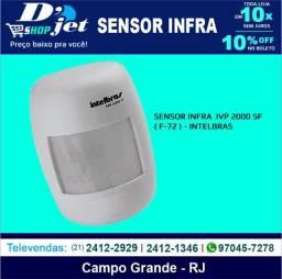 Sensor Infra Ivp2000 sem fio Sf - Intelbras - 205855
