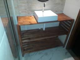 Gabinete estilo americano para banheiro