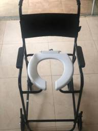 Cadeira de banho e rodas prolife PL001 e PL201