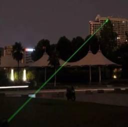 Super Laser Pointer Verde Forte Longo Alcance Estojo de luxo