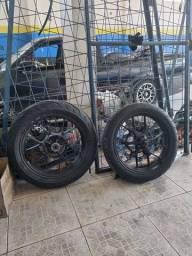 Par de pneus Technic Stroker