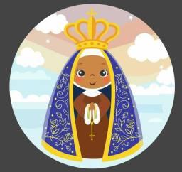 Capa painel sublimado Nossa Senhora Aparecida