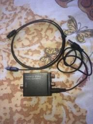 Conversor de audio rca para óptico