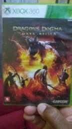 Vendo o jogo Dragon Dogma Xbox 360