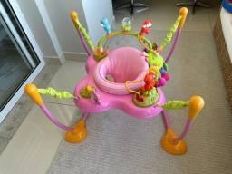 Jumper Play Time com função pula pula rosa