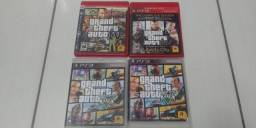 GTA 4 e GTA 5 PS3 excelente estado originais com garantia - precos no anuncio