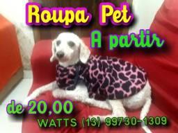 Roupa Pet *