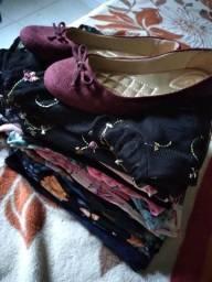 Lote de roupas pra bazar