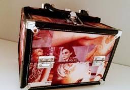 maleta organizadora com chave