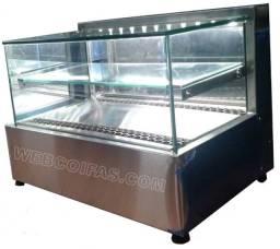 Vitrine refrigerada de sobrepor, para doces e bolos,  Direto da fábrica.