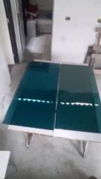 Placas de vidro dupla 120 x 0,53