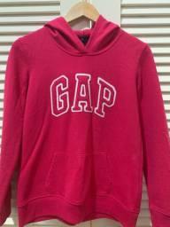 moletom rosa da Gap com capuz