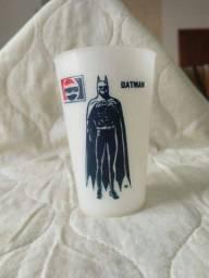 Copo antigo Pepsi Batman, raridade, década de 80.
