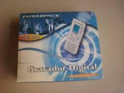Gravador Digital, usado Powerpack