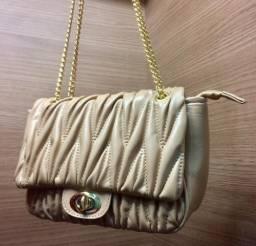 Bolsa Nude Inspiração Chanel