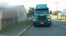 Caminhão Scania 112 hs - 2000