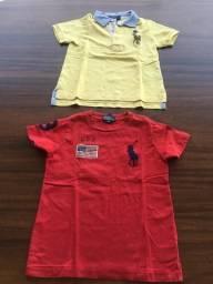Camisa polo e camiseta Ralph Lauren TAM 4