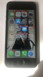 Apple iphone 5s 16gb cinza espacial- completo baratinho pra sair hoje