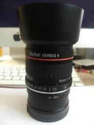 Lente Vivitar 85mm 1.8 Nikon + Adaptor Para Sony
