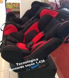Vai viajar? cadeiras reclináveis com base fixa em L