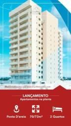 LYV - Apartamento bem localizado/ 2 quartos/ varanda gourmet
