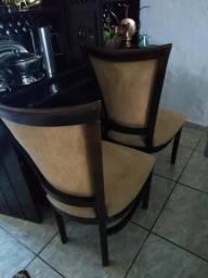 6 cadeiras de luxo