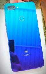 Xiaomi m8 lite 128 de memória 6 gigas de RAM