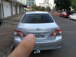 Toyota corolla 2011 prata GLI - 2011