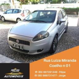 Fiat Punto Sporting 1.8 2008 blindado manual - 2008