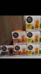 Cápsulas dolce gusto, caixas fechadas