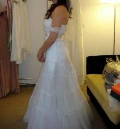 69a2d8d1a4f1 vestidos de noiva usado