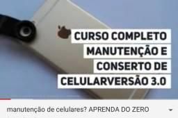 Curso (online) manutenção de qualquer tipo de celulares