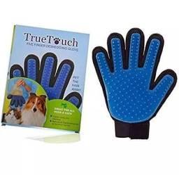 Luva Tira Pelos True Touch Para cães e gatos