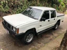 Mitsubishi l200 1998 4x4 turbo diesel completa - 1998