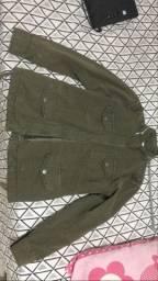Jaqueta Pool Jeans verde tamanho P NUNCA USADA
