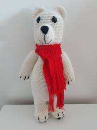 Amigurumi urso polar
