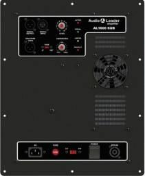 Potência Amplificador In Box Áudio Leader Al Sub 1600 1600w