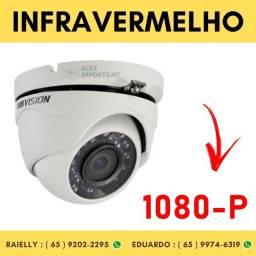 Câmera de Segurança HikVision Dome Infravermelho 20 Metros Hd 1080P 1/3 2,8mm cuiaba